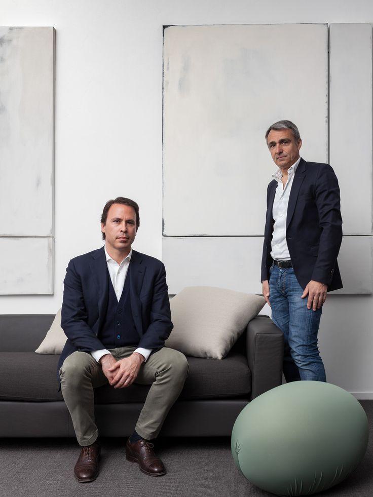 Baleri Italia - Amministratore Delegato Sebastiano Langé e Art Director Aldo Parisotto