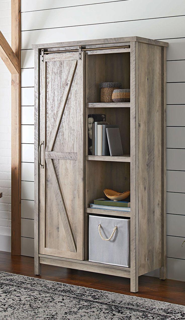 Modern Farmhouse Storage Cabinet