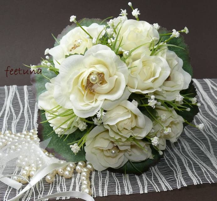 Small Bridal Bouquet Registry Office Elegant Romantic Small Registry Bouquet C …  – Hochzeitskarten