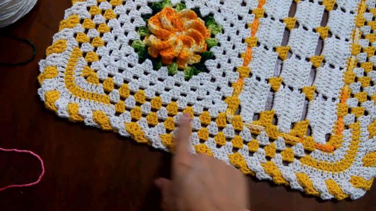 Artesanato Com Garrafa De Vidro E Barbante ~ 1110 melhores imagens de Tapetes de croche no Pinterest Tapetes, Tapetes de croch u00ea e Tapete de