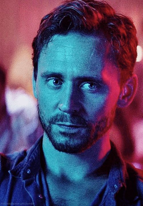 Tom Hiddleston | I didn't know i needed this gif in my life
