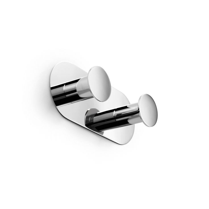 Napie 53082 Double Bathroom Hook in Polished Chrome. 9 best Modern Chrome Double Bathroom Hooks images on Pinterest