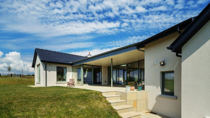 Inside Out But Not Upside Down Selfbuild Plus In 2020 Barn Style House Modern Barn House Bungalow House Design