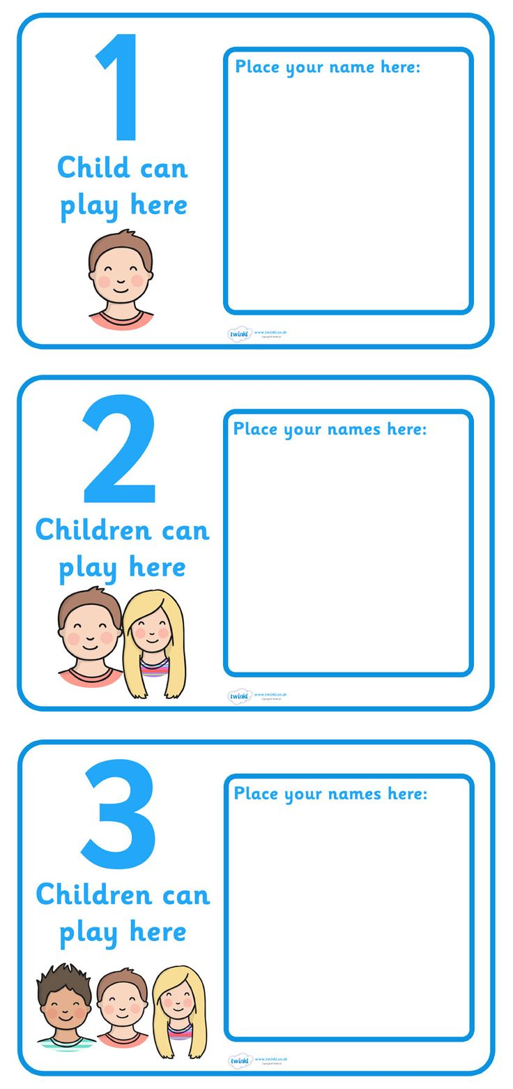 Worksheet Preschool Work 10 best ideas about preschool center signs on pinterest name twinkl resources how many can work here classroom printables for