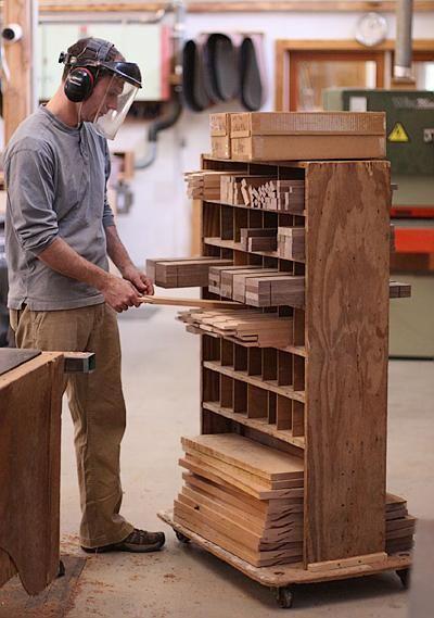 Odd Parts Organizer Storage on wheels    garyweeks.wordpress.com