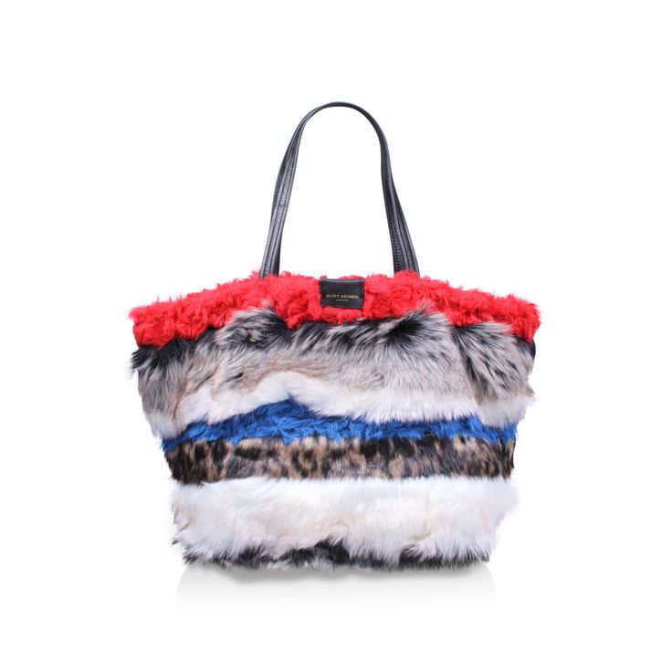 This is an incredible creation. I #CraveKurtGeiger and would LOVE to own this fabulous bag.  POPPY SOFT TOTE in multi/other KURT GEIGER LONDON NEW £149.00