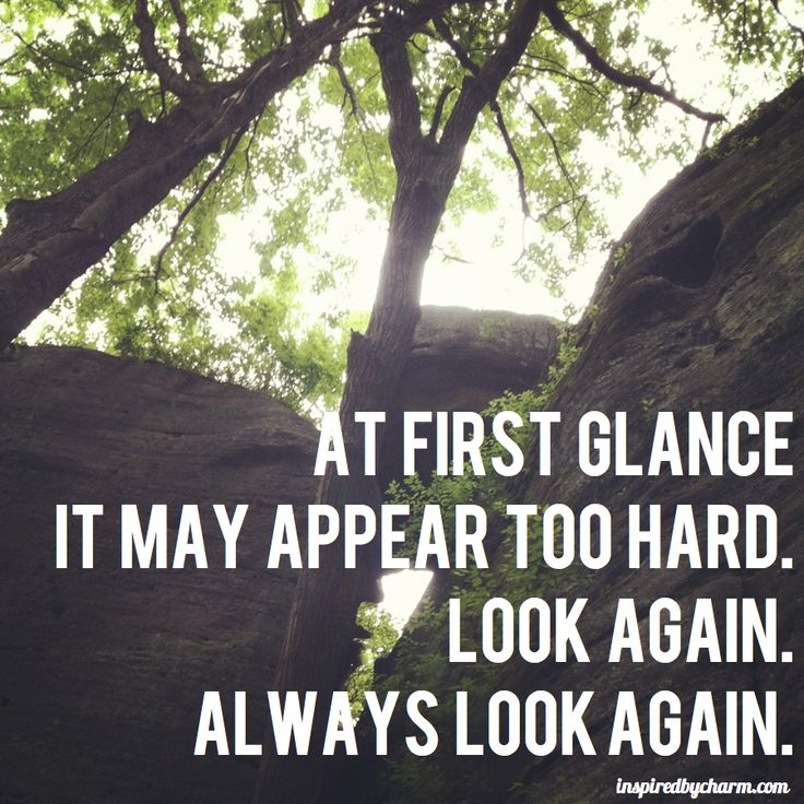 Always look again.Life Motivation, Charms, Second Glance, Wisdom, Truths,  Pale, Things, Hard, Inspiration Quotes
