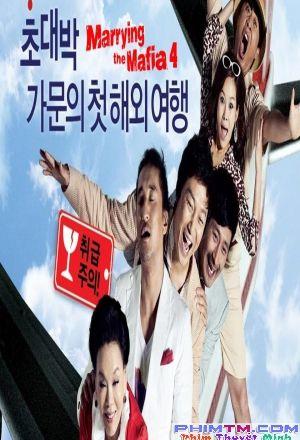 Bộ Phim : Cưới Nhầm Mafia ( Marrying the Mafia 4: Family Ordeal ) 2011 - Phim Hàn Quốc. Thuộc thể loại : Phim Hài Hước , Phim Hành Động Quốc gia Sản Xuất ( Country production ): Phim Hàn Quốc   Đạo Diễn (Director ): Tae-won JeongDiễn Viên ( Actors ): Hyeon-jun Shin, Jae-hun Tak, Su-mi KimThời Lượng ( Duration ): ??Năm Sản Xuất (Release year): 2011Gia đình của Chủ tịch Hong đã đạt vô số danh tiếng sau khi kin