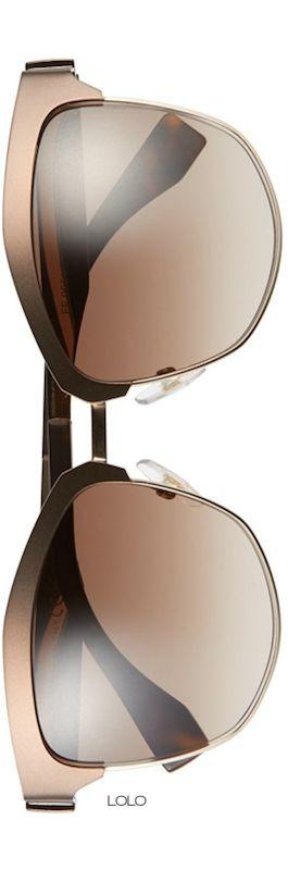 Fendi 55mm Retro Sunglasses | LOLO❤︎