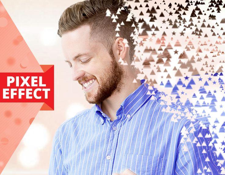 UI/UX design of Pixel effect - Photo Editor App