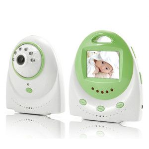 Baby Monitor with Two Way Audio and Temperature Alarm