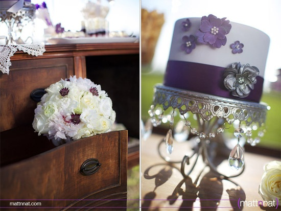 I want a purple wedding