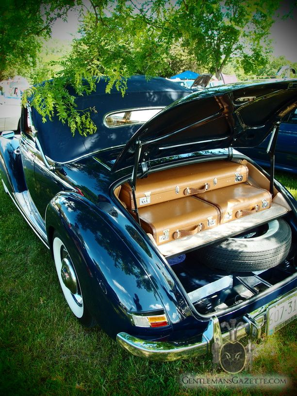Mercedes Benz 220 Cabriolet A Trunk