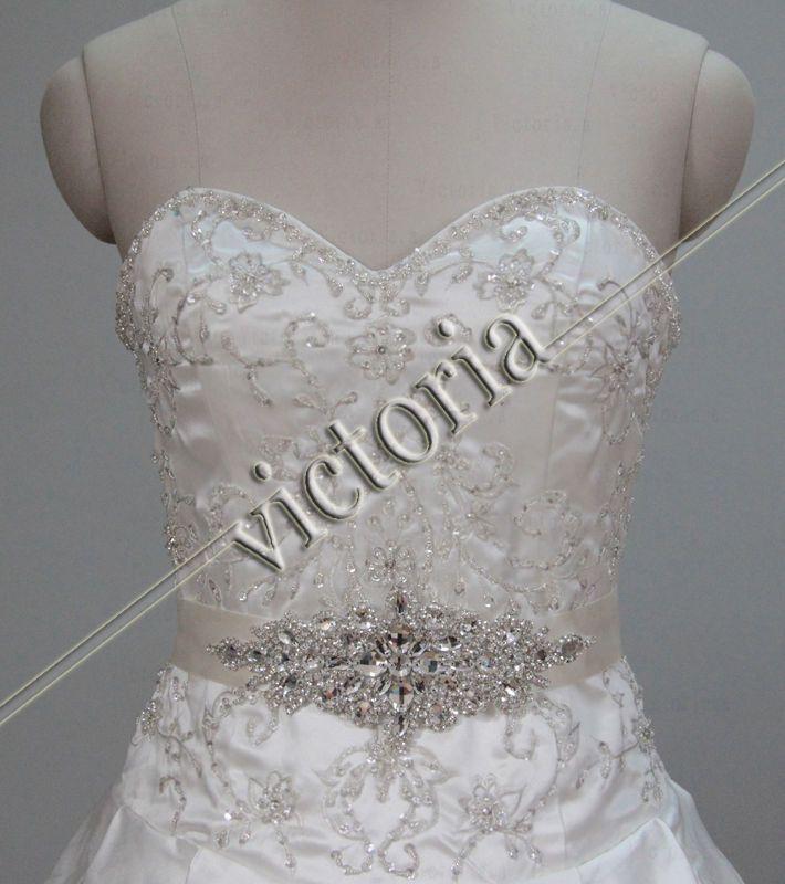 Wedding belt sash ebay crystals wedding pinterest for Belts for wedding dresses ebay