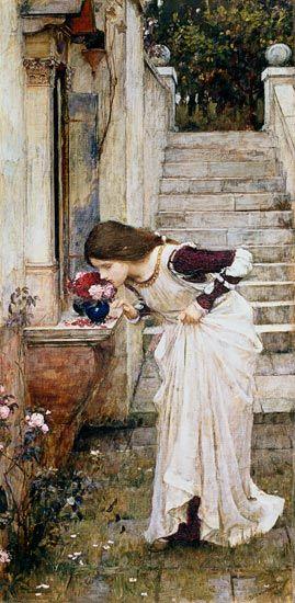 John William Waterhouse-The Shrine