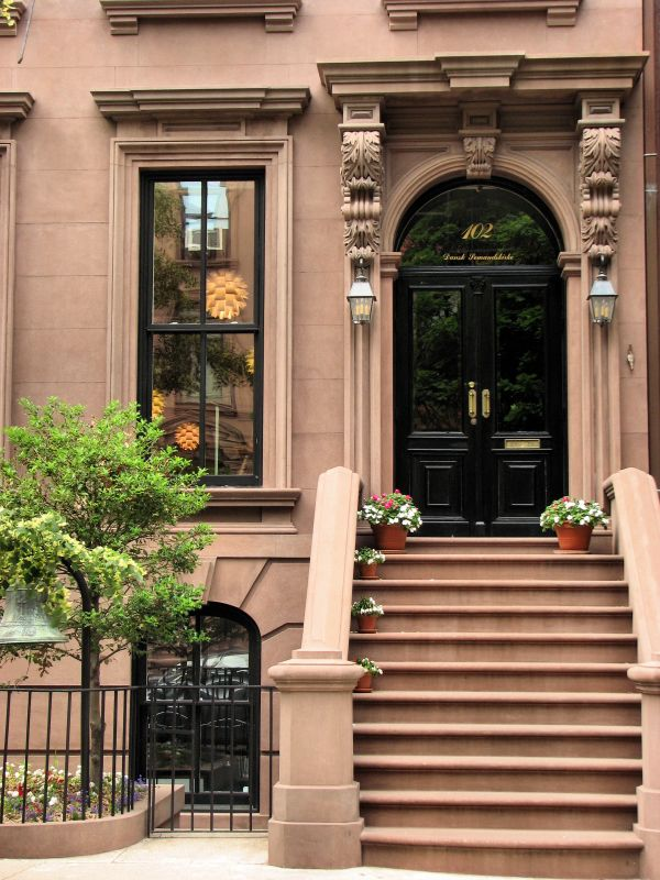 1000 Images About Beautiful Brownstones On Pinterest