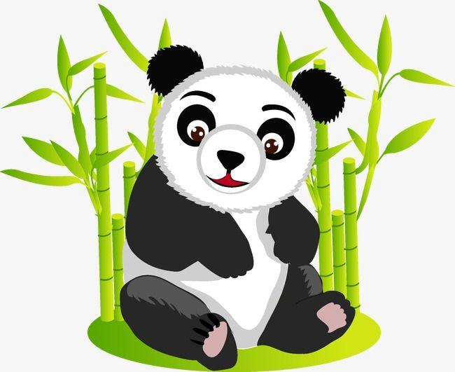 Panda Panda Vector Animal Png Transparent Clipart Image And Psd File For Free Download Cartoon Jungle Animals Animal Clipart Free Cartoon Animals