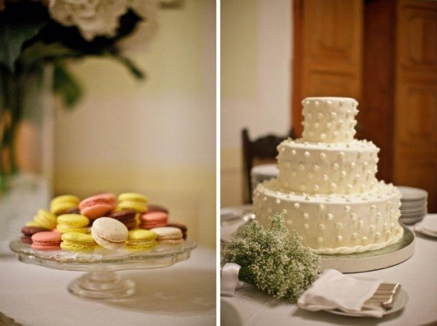 Love the piping on the cake