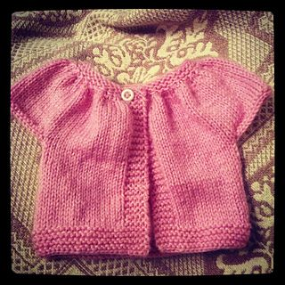 doll clothes sweater for 12and 16 inch dolls, free, dk wt yarn