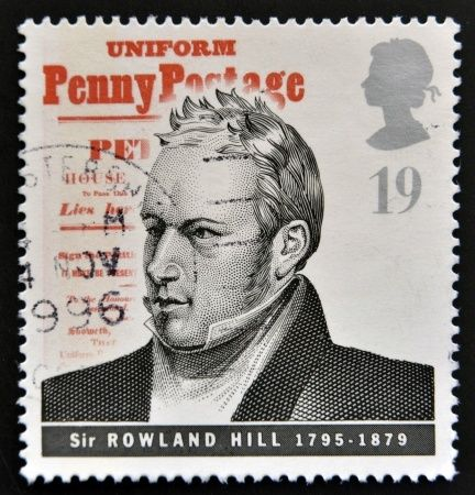 Saluting Sir Rowland Hill – Who Changed the Face of Postal Service  If you are a die-hard stamp collector or have delved into Postal History, the name of Sir Rowland Hill may be all too familiar to you. For, he is best known as the inventor of the first postage stamp in the world, the Penny Black. His extensive postal reforms that swept across Great Britain proved to be a pioneer in postal systems the world over.