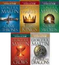 Game of Thrones series.  Read them all - you won't be able to put them down!