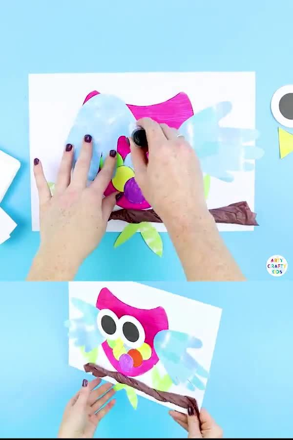 Bobble Head Owl Craft