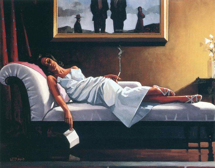 Jack Vettriano - The Letter