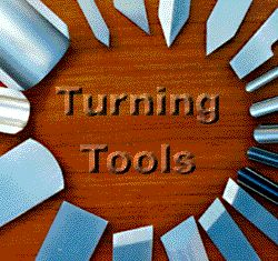 Turning tools and their uses.