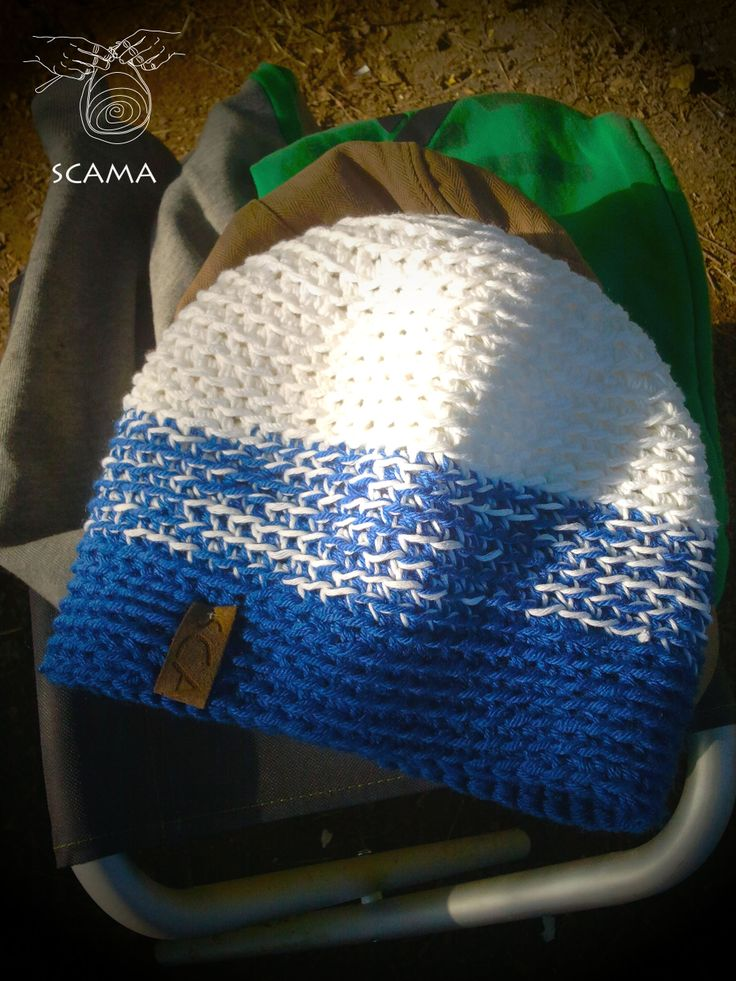 Hand made beenie, from cotton.