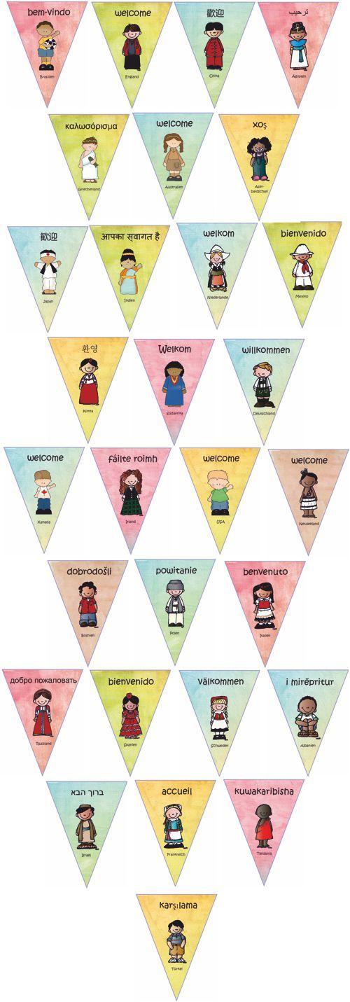 Kinder aus aller Welt - Willkommen von Zaubereinmaleins