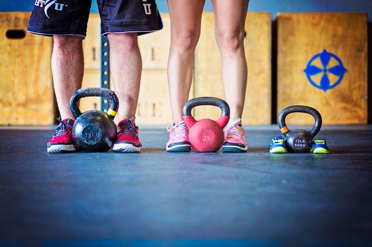 CrossFit maternity pic