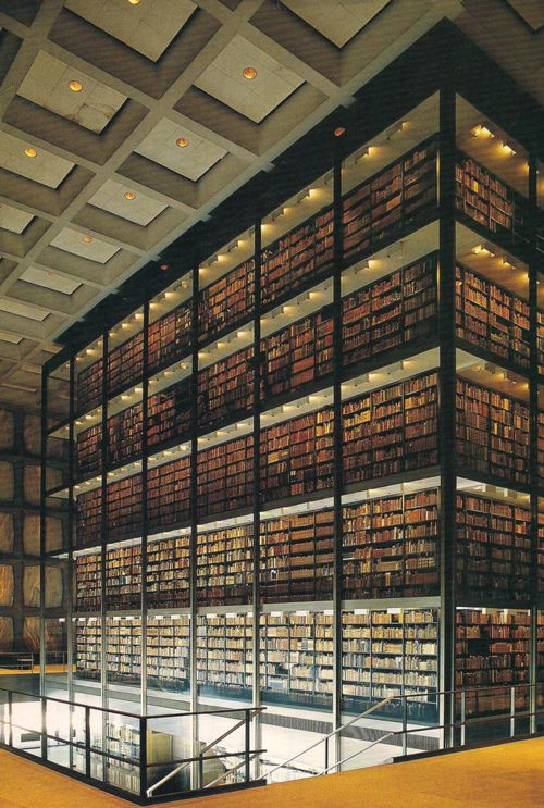 This library at Yale is incredible