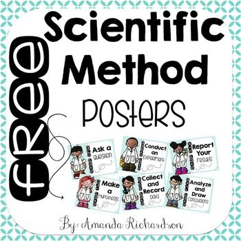 Scientific Method Posters {FREEBIE}