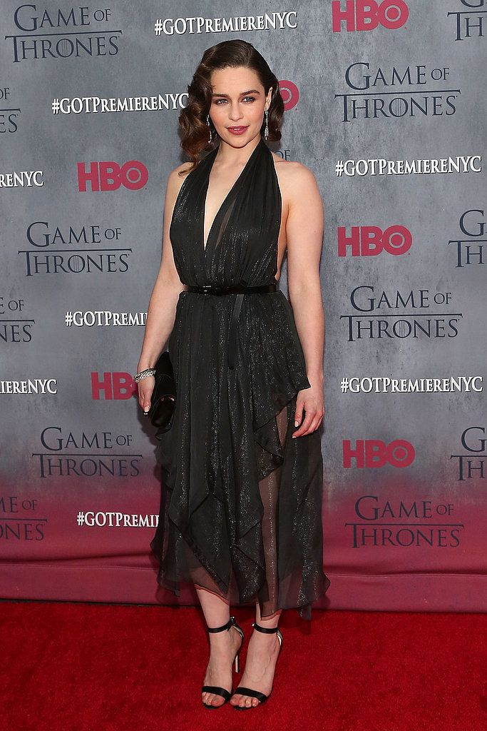 Emilia Clarke Is the Queen of Sizzling-Hot Appearances: She plays one of the best badasses in the Seven Kingdoms on Game of Thrones, but actress Emilia Clarke is just as fierce in real life.