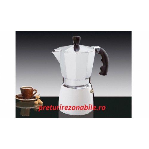 Cafetiera capacitate 3/6/9 cesti este foarte usor si simplu de utilizat, cafeaua avand un gust deosebit de bun. In aceasta cafetiera espresso, cafeaua se prepara foarte repede avand un gust foarte placut.