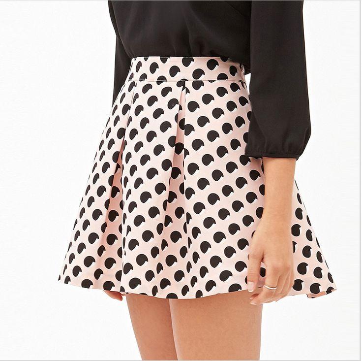 Super cute elastic skirt with jersey material. #skirt #jersey