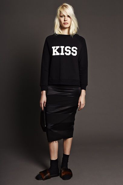 KISS love this sweater Rika http://www.rikaint.com