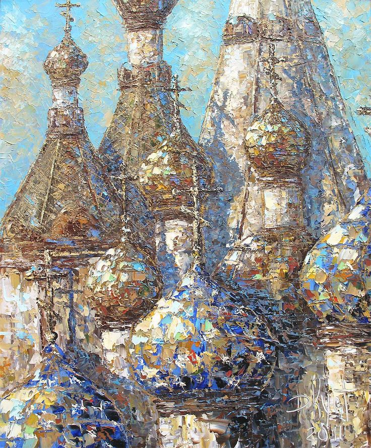 Dmitry Kustanovich, 1970 | Impressionist Palette Knife painter | Tutt'Art@
