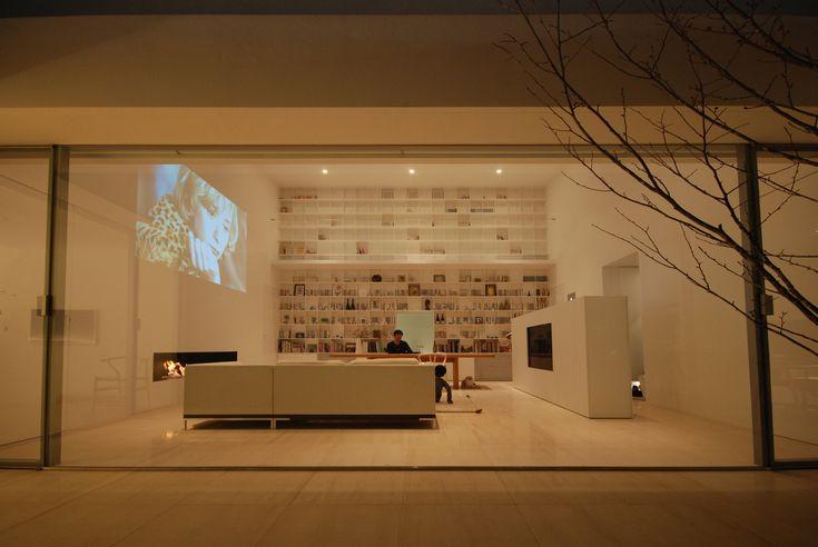 Image 1 of 21 from gallery of Library House / Shinichi Ogawa & Associates. Courtesy of Shinichi Ogawa & Associates