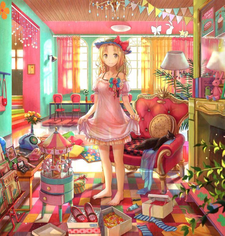 見習いパリジェンヌのスイートルーム / Artist: http://www.pixiv.net/member.php?id=27517