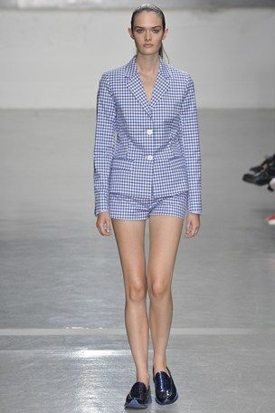 Richard Nicoll LFW S/S 15 (tattersall)