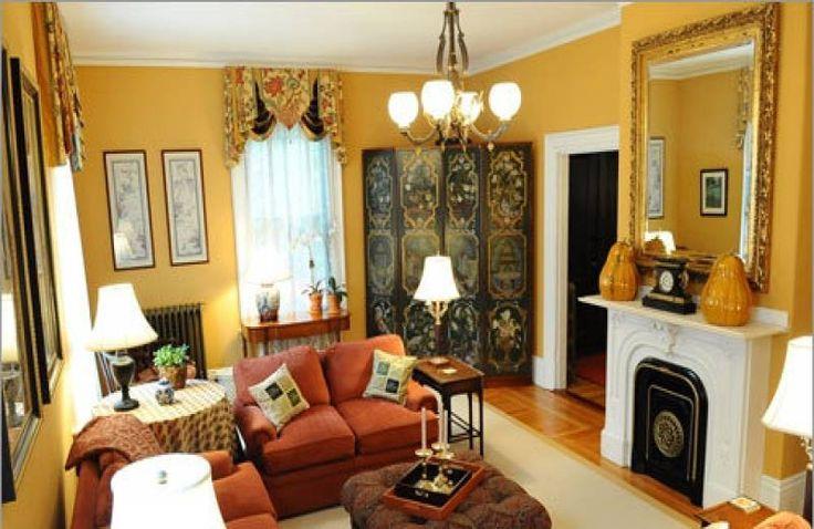 Living Room , Bright Living Room Paint Ideas : Mustard Gold Living Room Paint Ideas