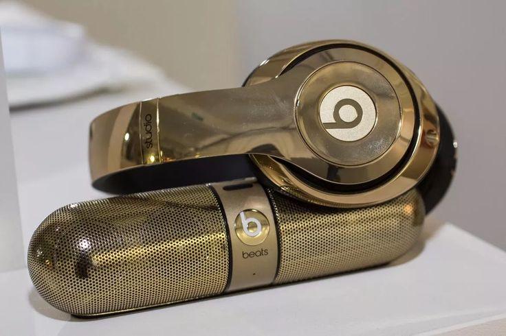 Audifonos Beats Gold Oro + Bocina Edicion Especial Bluetooth - $ 7,999.00 en Mercado Libre
