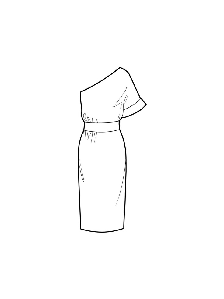 Line Drawing Dress : Best images about dress line drawings on pinterest