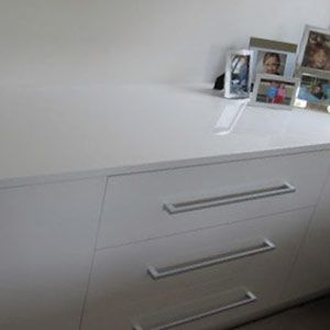 Poly Gloss Doors Wardrobes - Leichardt, Sydney Project