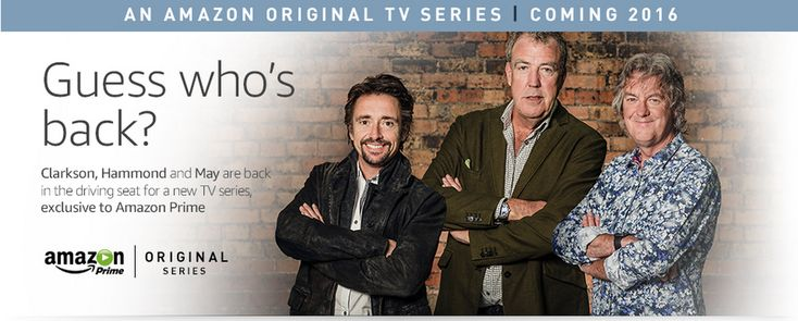 Amazon beats Netflix to new car show from Top Gear presenters