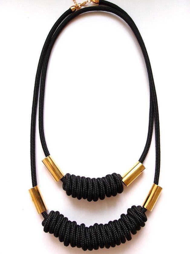 Kette mittellang Knots // necklace by fantastique via dawanda.com