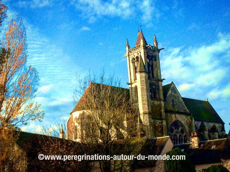 Cathédrale de Moret sur Loing ce matin.