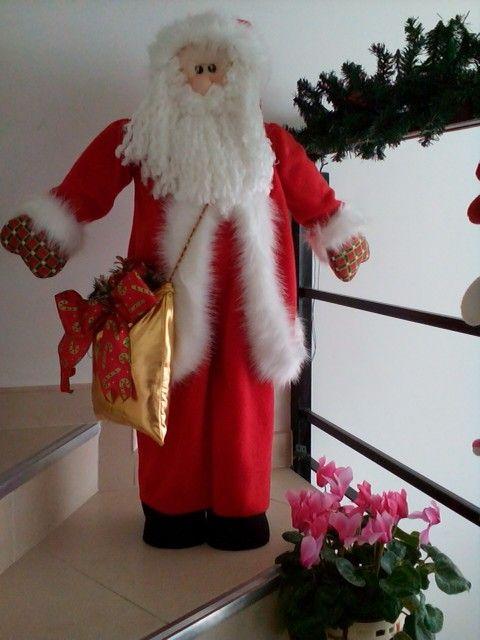 Noel elegante de muñecos navideños blanca nieve