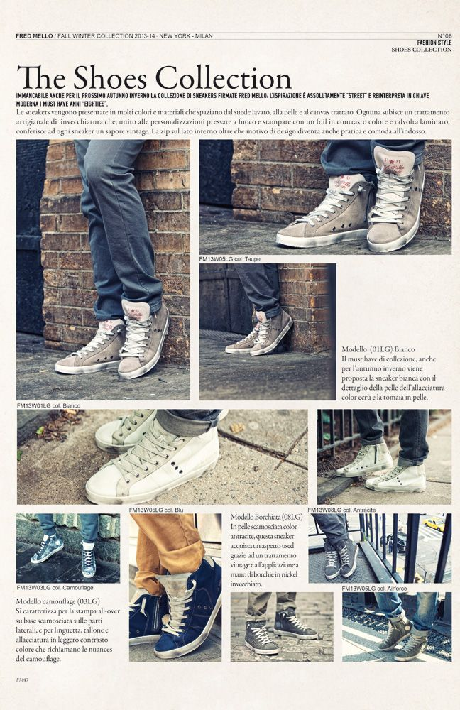 Shoes #magazine fall winter collection#fredmello #fredmello1982 #newyork #advcampaign#accessories#fallwinter13 #accessible luxury #cool #usa #mancollection